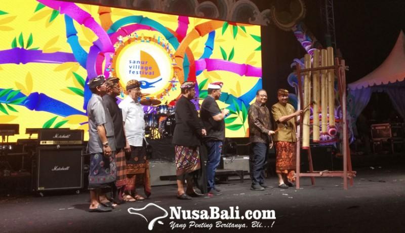 www.nusabali.com-sanur-village-festival-xiv-dibuka-menteri-pariwisata