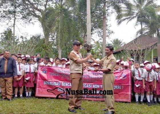 Nusabali.com - bpbd-latih-siswa-siaga-gempa