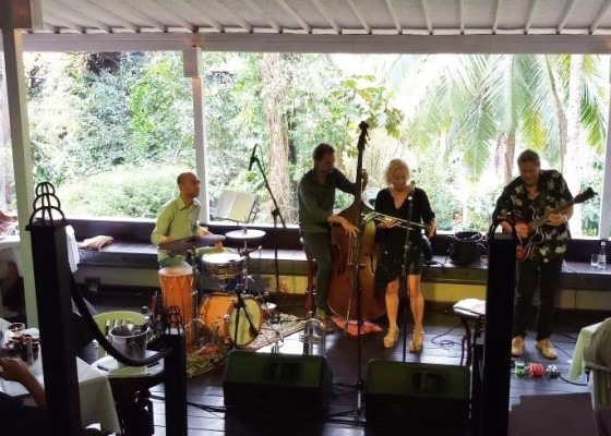 Nusabali.com - kemeriahan-dan-kesuksesan-ubud-village-jazz-festival-uvjf-2019-masih-berlanjut