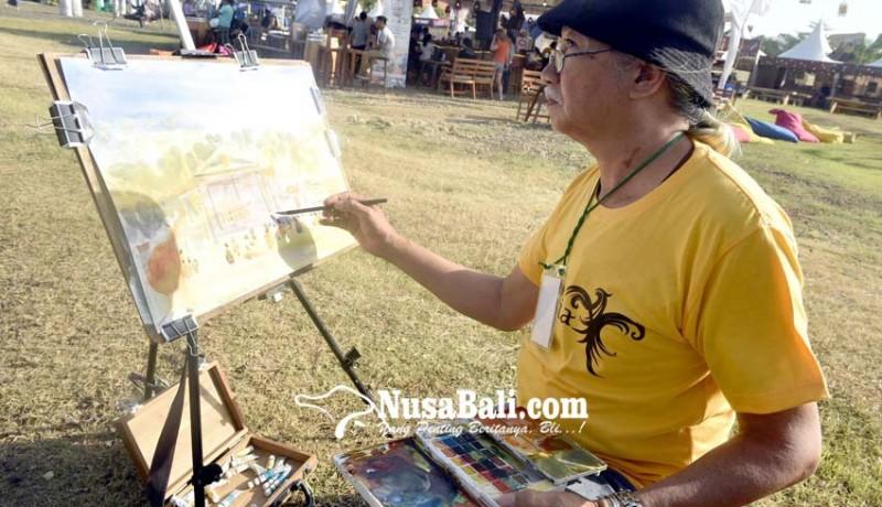 www.nusabali.com-komunitas-pelukis-cat-air-respon-suasana-svf-2019