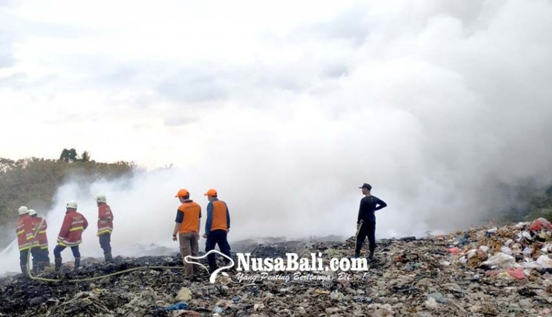 www.nusabali.com-tpa-mandung-terbakar-api-sulit-dipadamkan