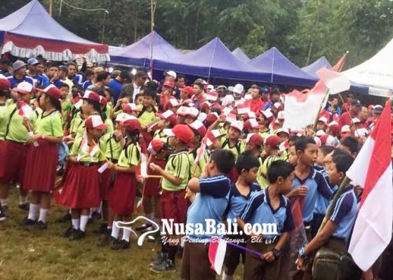 Nusabali.com - ribuan-peserta-ikuti-jalan-santai-tembuku-festival