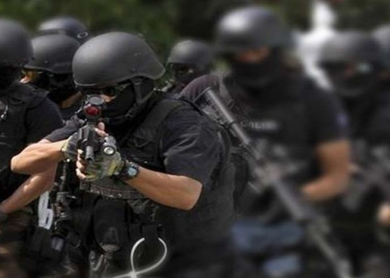 Nusabali.com - densus-88-tangkap-terduga-teroris-di-lamongan
