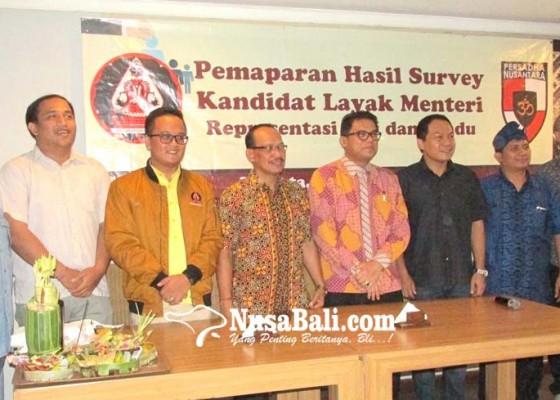 Nusabali.com - peradah-rekomendasi-3-calon-menteri-representasi-bali