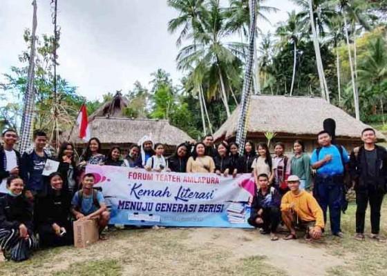 Nusabali.com - kemah-literasi-asah-kreativitas-siswa