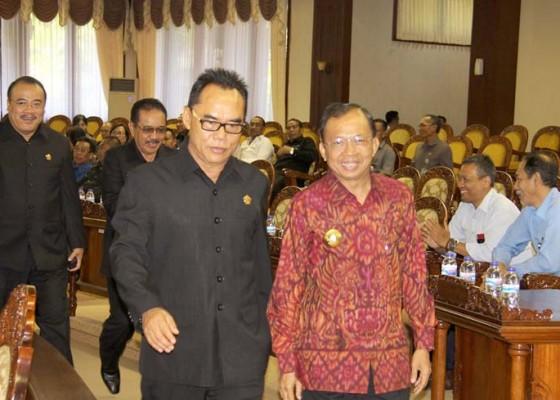 Nusabali.com - ketua-dprd-bali-back-up-gubernur