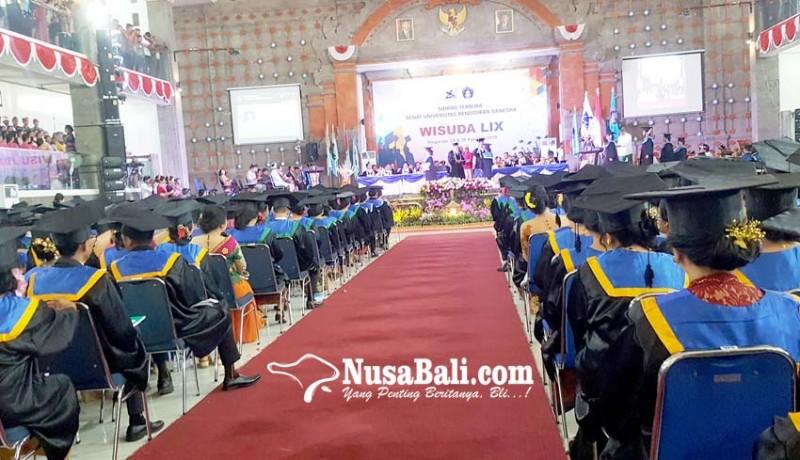 www.nusabali.com-wisuda-ke-59-undiksha-lulusan-diharapkan-pegang-teguh-karakter