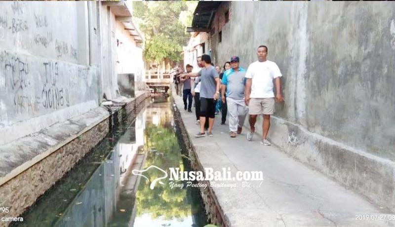 www.nusabali.com-perkimta-kaji-penataan-sanitasi-kawasan-kali-mumbul
