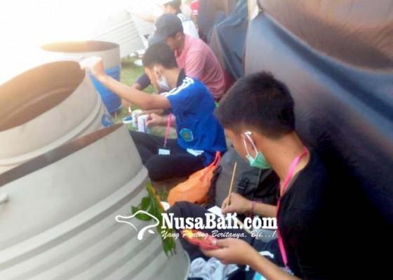 Nusabali.com - panitia-bika-fest-gelar-lomba-melukis-tong-sampah