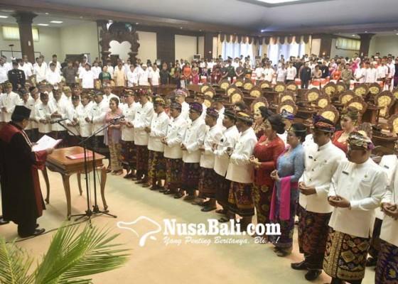Nusabali.com - dprd-bali-ditodong-4-ranperda-di-2019