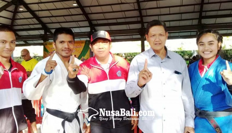 www.nusabali.com-denpasar-juara-umum-cabor-judo