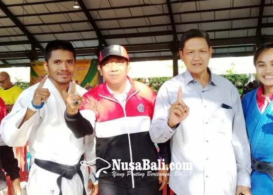 Nusabali.com - denpasar-juara-umum-cabor-judo