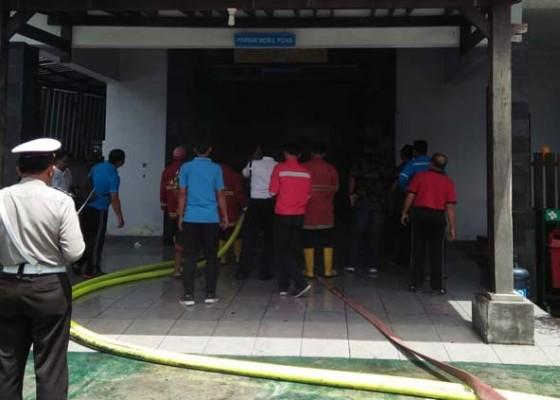 Nusabali.com - gudang-alat-pln-terbakar