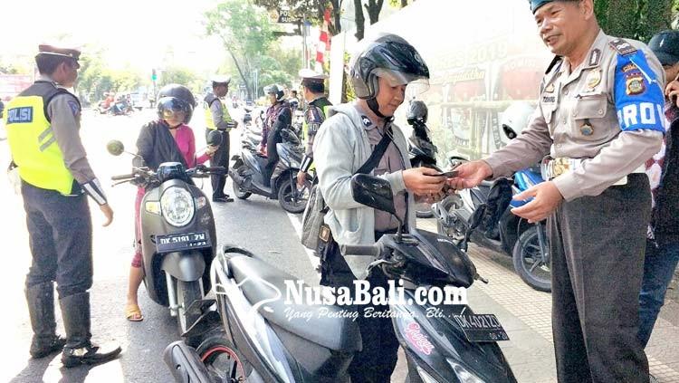 www.nusabali.com-sepekan-operasi-patuh-jaring-494-pelanggar-lalu-lintas