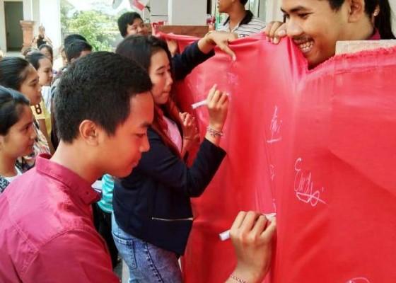 Nusabali.com - fkrh-jembrana-deklarasikan-anak-bali-cinta-damai