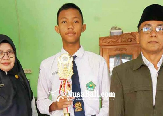 Nusabali.com - siswa-mtsn-karangasem-janjikan-medali-di-ksm-nasional