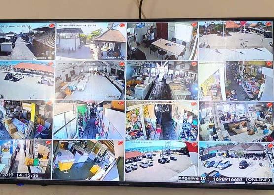 Nusabali.com - tekan-tindak-kriminalitas-desa-adat-kedonganan-pasang-puluhan-cctv