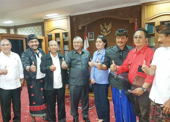 Nusabali.com - phdi-badung-gelar-audiensi-ke-dprd