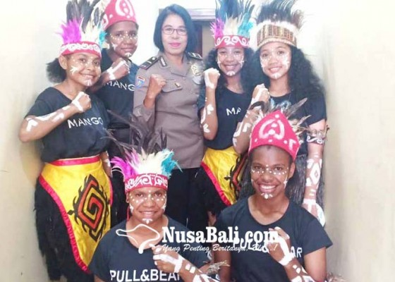 Nusabali.com - kapolres-jamin-keamanan-warga-papua-di-gianyar