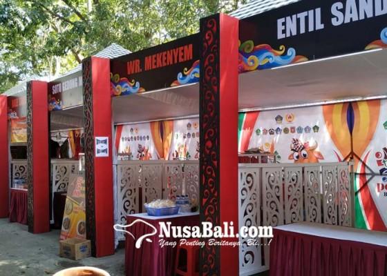 Nusabali.com - stand-di-porprov-bali-belum-dilengkapi-tulisan-aksara-bali
