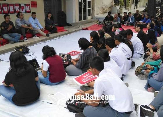 Nusabali.com - pemuda-bali-dukung-kpk