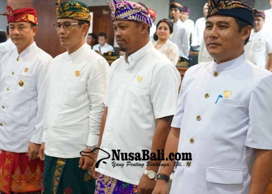 Nusabali.com - pimpinan-dewan-dilantik-janji-kebut-bahas-r-apbdp