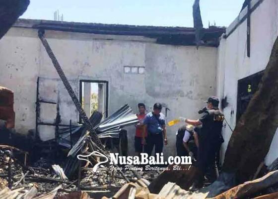 Nusabali.com - tim-labfor-selidiki-kebakaran-toko-eks-dewan