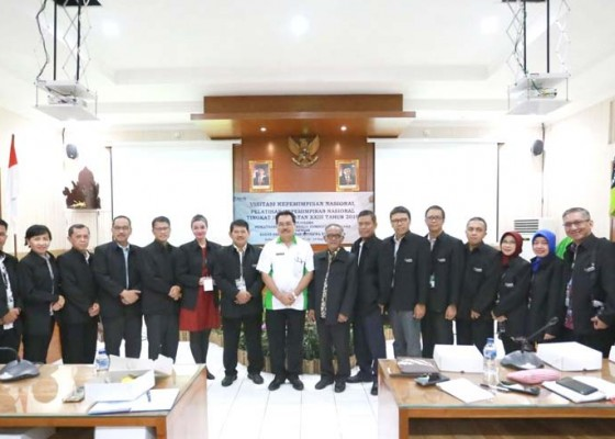 Nusabali.com - klungkung-terima-peserta-visitasi-pkn