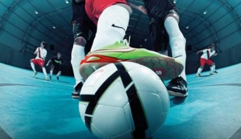 www.nusabali.com-futsal-porprov-ricuh-satu-pemain-diamankan