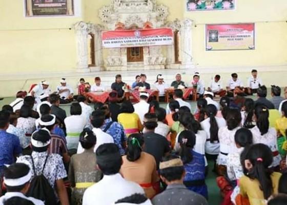 Nusabali.com - bupati-suwirta-sosialisasikan-pencegahan-konflik-sosial-di-nusa-penida