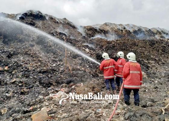 Nusabali.com - damkar-dari-tiga-kabupaten-dikerahkan-ke-tpa-mandung