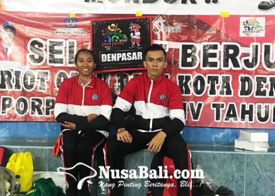 Nusabali.com - denpasar-kawinkan-emas-senam-artistik-lantai