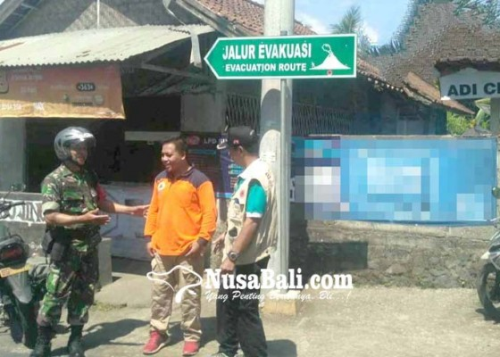Nusabali.com - bpbd-pasang-58-rambu-rawan-bencana