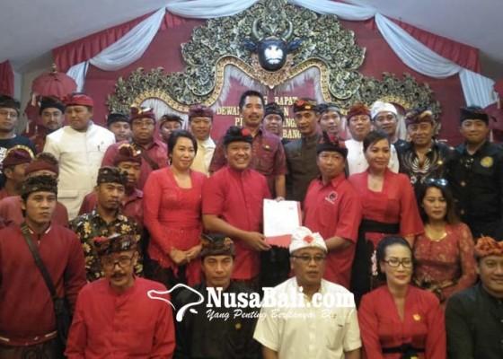 Nusabali.com - seluruh-bakal-calon-mendaftar-bersamaan-di-dpc-pdip-bangli