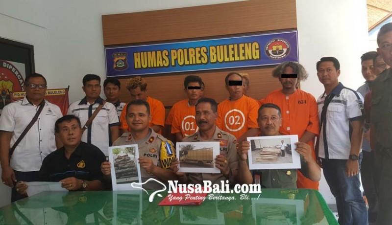 www.nusabali.com-polisi-bekuk-sindikat-illegal-loging