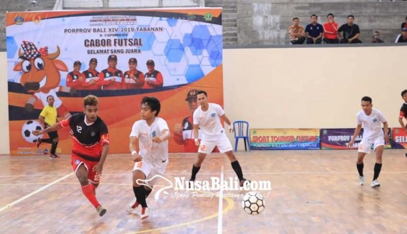 www.nusabali.com-badung-hattrick-pertahankan-emas-futsal