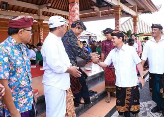 Nusabali.com - bupati-suwirta-gelar-pimpin-temu-wirasa-di-kecamatan-klungkung
