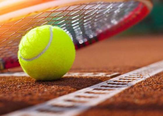 Nusabali.com - buleleng-hattrick-tenis-lapangan