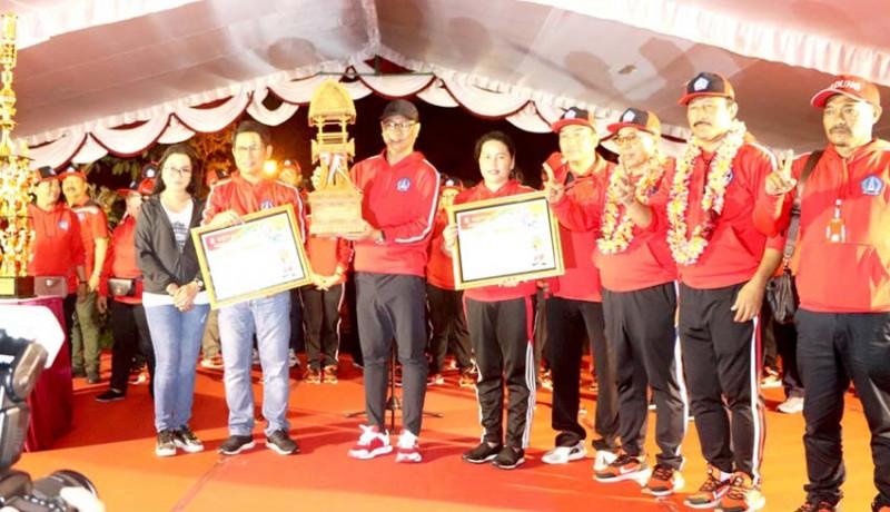 www.nusabali.com-badung-juara-umum-porprov-bali-xiv