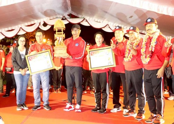 Nusabali.com - badung-juara-umum-porprov-bali-xiv