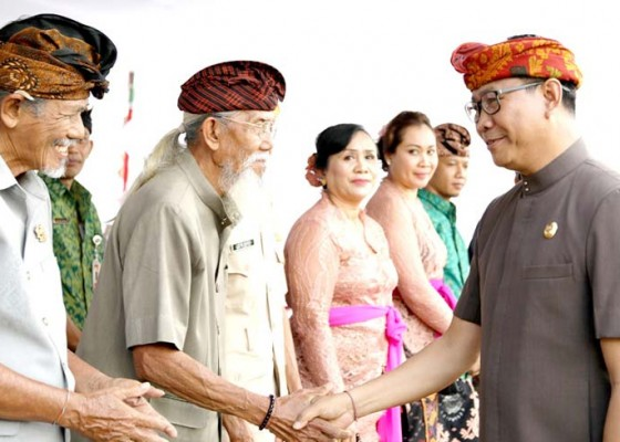 Nusabali.com - wabup-suiasa-pimpin-upacara-peringatan-113-tahun-puputan-badung