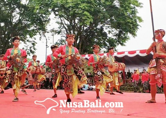 Nusabali.com - langganan-juara-lomba-baleganjur-smp