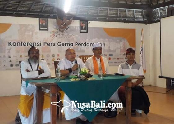 Nusabali.com - gema-perdamaian-2019-usung-tema-damailah-bangsaku-jayalah-negeriku