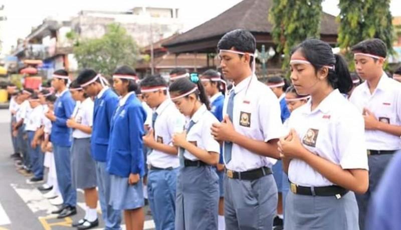 www.nusabali.com-doa-damai-dan-parade-budaya-di-monumen-puputan-klungkung