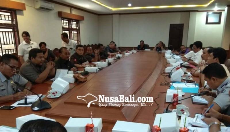 www.nusabali.com-komisi-iii-geram-tiga-kadis-tak-hadiri-raker
