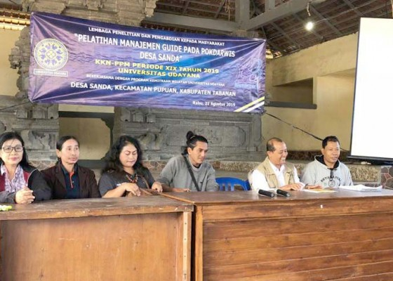 Nusabali.com - tim-pkw-unud-adakan-pelatihan-manajemen-guide