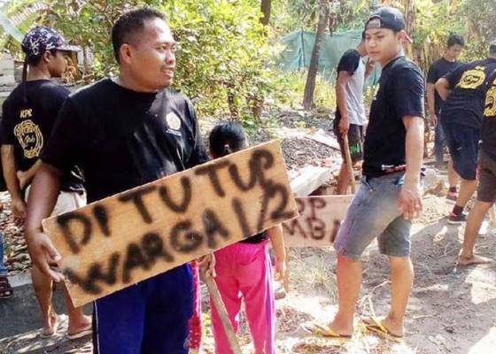 Nusabali.com - warga-tutup-saluran-pembuangan-home-industry