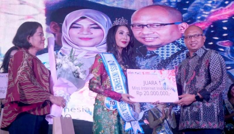 www.nusabali.com-staf-humas-pemkot-denpasar-jadi-miss-internet-indonesia-2019