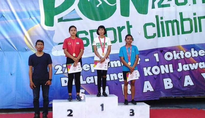www.nusabali.com-bali-loloskan-8-atlet-panjat-tebing-ke-pon-papua