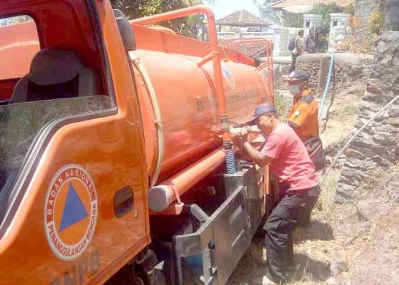 Nusabali.com - bpbd-suplai-air-bersih-ke-desa-seraya-timur